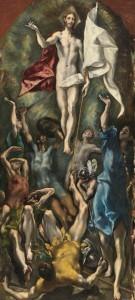 La resurrección Cristo. El Greco