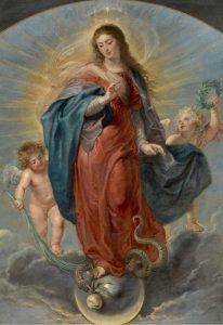 La Inmaculada Concepción de Pedro Pablo Rubens (Museo del Prado)