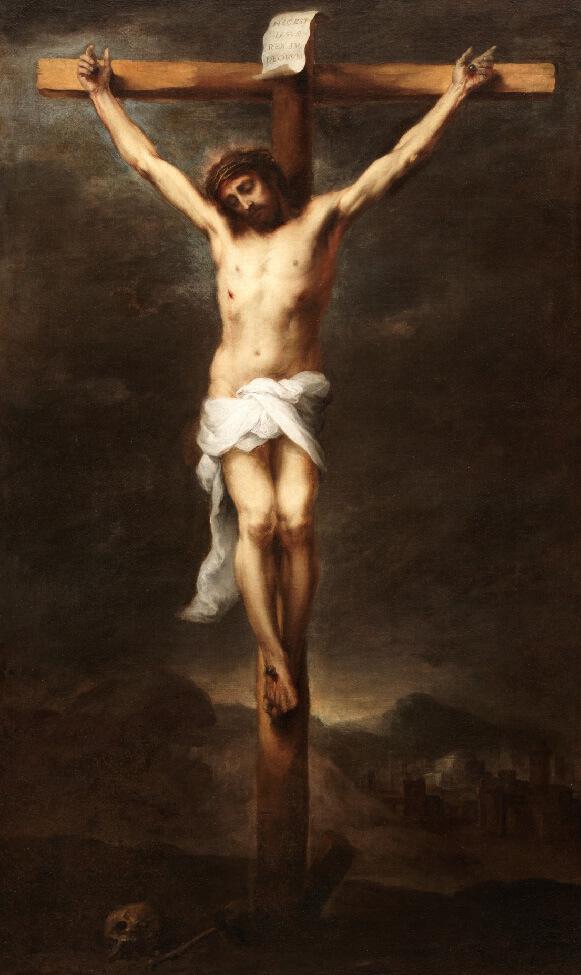 Cristo en la Cruz. Bartolomé Esteban Murillo, Museo del Prado