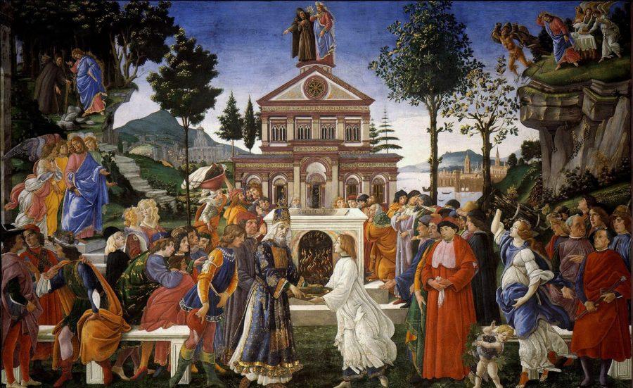 Tentaciones de Cristo (Botticelli)