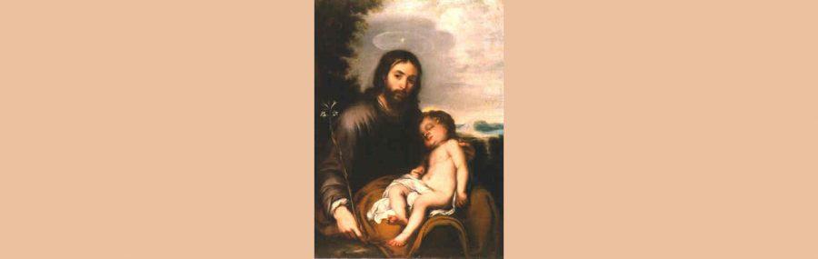 Bartolomé Esteban Murillo, San José con el Niño dormido