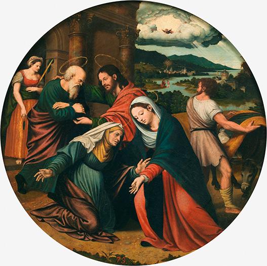 La Visitación. MACIP, VICENTE. Museo Nacional del Prado